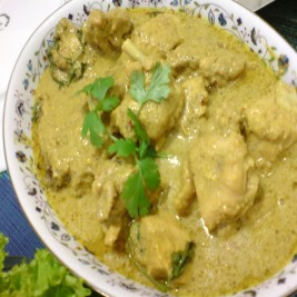 Chicken White Tawa Karahi